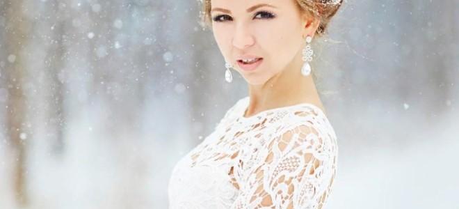 Зимняя невеста: как выбрать платье для свадьбы зимой?