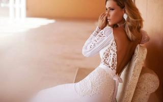Платье с рукавами на свадьбу