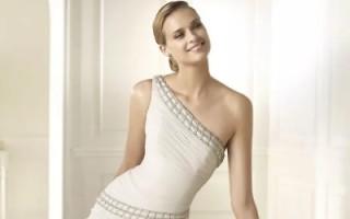 Стили свадебных платьев: греческий стиль