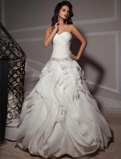 Пышные свадебные платья 7