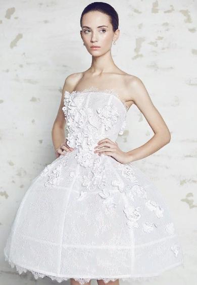 короткое платье - пачка