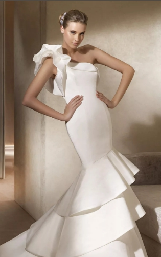 свадебное платье годе