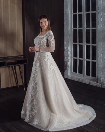 Модные свадебные платья